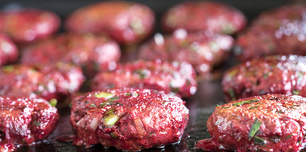 Best ever Gluten Free Beetroot and Lamb Burger Recipe