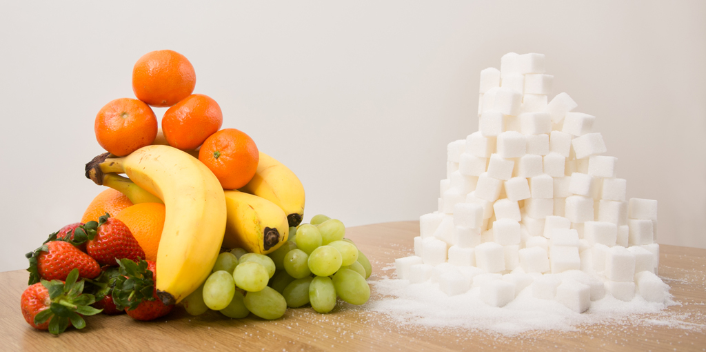 Is sugar in fruit used as a treat, reward, comfort or to check out?