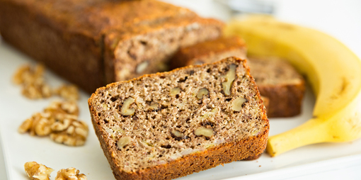Banana Bread – Gluten Free, Dairy Free & Sugar Free - thumbnail version