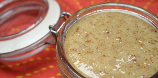 Garlic almond dressing - thumbnail version