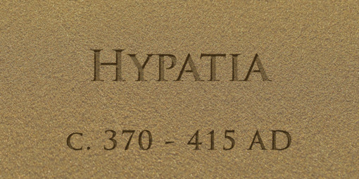 Hypatia – A Great Teacher and Universal Role Model  - thumbnail version