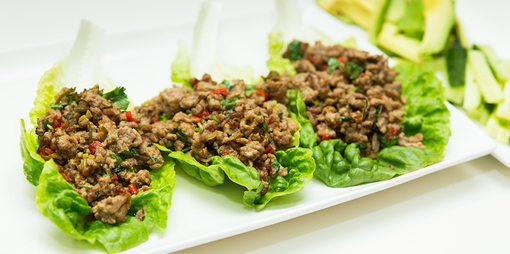 Exotic lamb mince recipe with a touch of chilli - thumbnail version