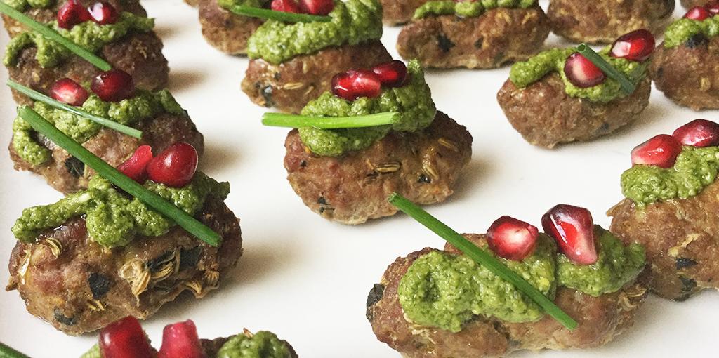 Mini lamb koftas – perfect party food