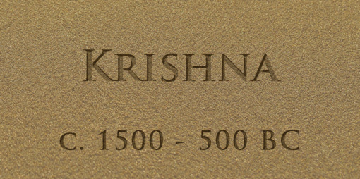 Krishna – an Indian Prince and a man of pure divinity – a messenger of the Ageless Wisdom - thumbnail version