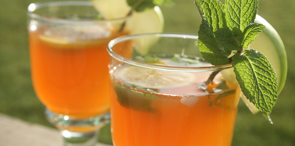 Caffeine free iced tea