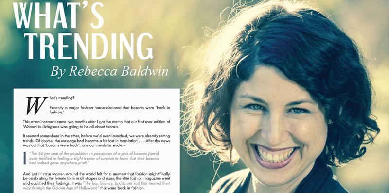 Women in Livingness Magazine - thumbnail version