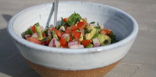 A fresh, simple and adaptable salsa - thumbnail version