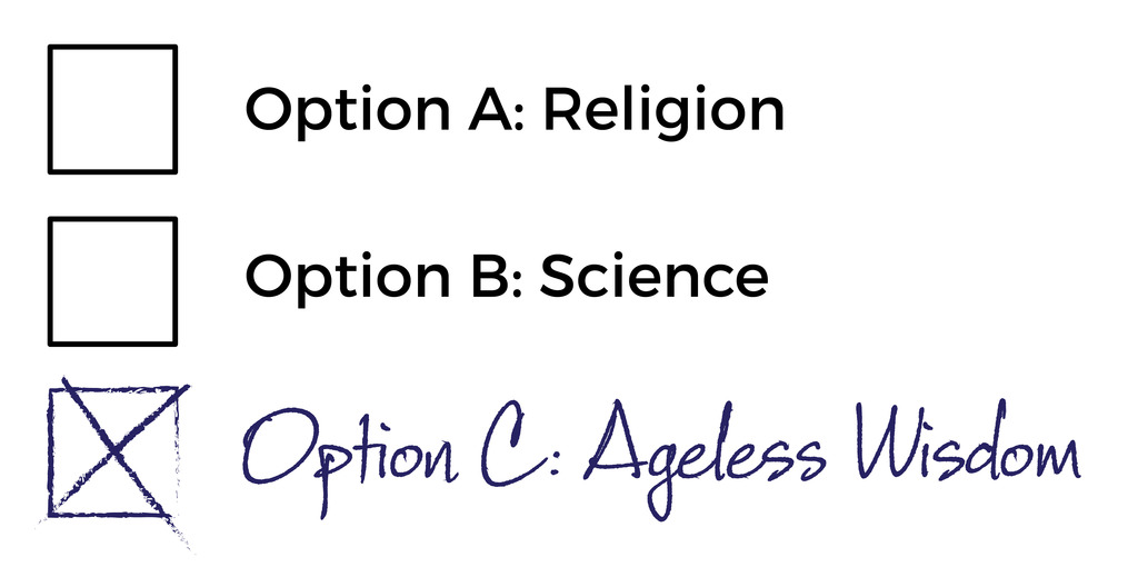 Evolution and creation, not an either/or, but true religion and true science