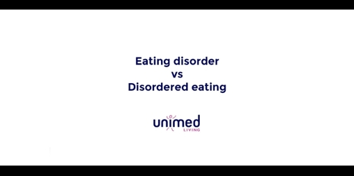 Eating Disorder or Disordered Eating? - thumbnail version