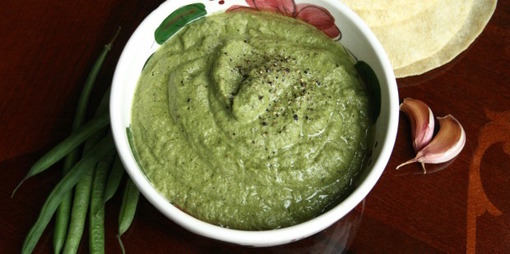 Green bean mash - thumbnail version