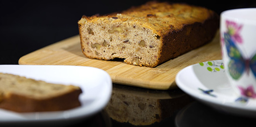 Gluten and dairy free almond and date loaf - thumbnail version