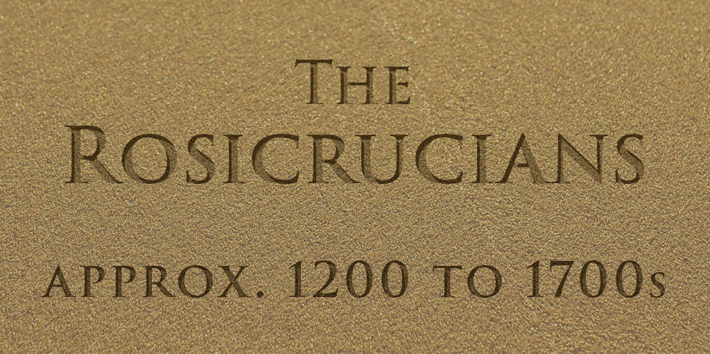 The true history of the Rosicrucians