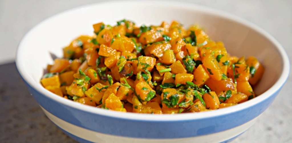 Carrot salad Moroccan style