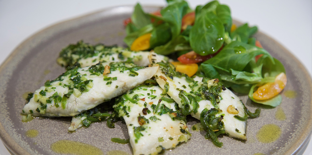 Snapper and herb bake