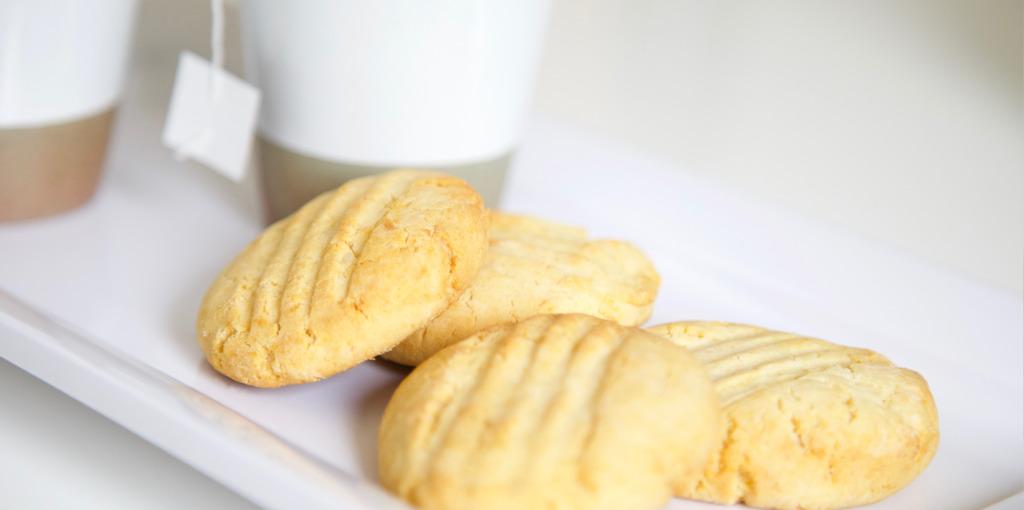 Gluten free and dairy free macadamia cookies