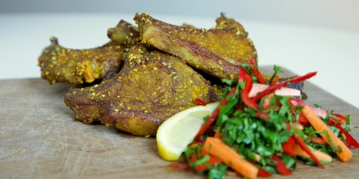 Crispy lamb cutlets - thumbnail version