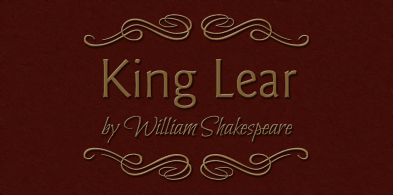 Shakespeare's King Lear:  King Liar and the tyranny of 'Elsewhere Conscious Presence' - thumbnail version