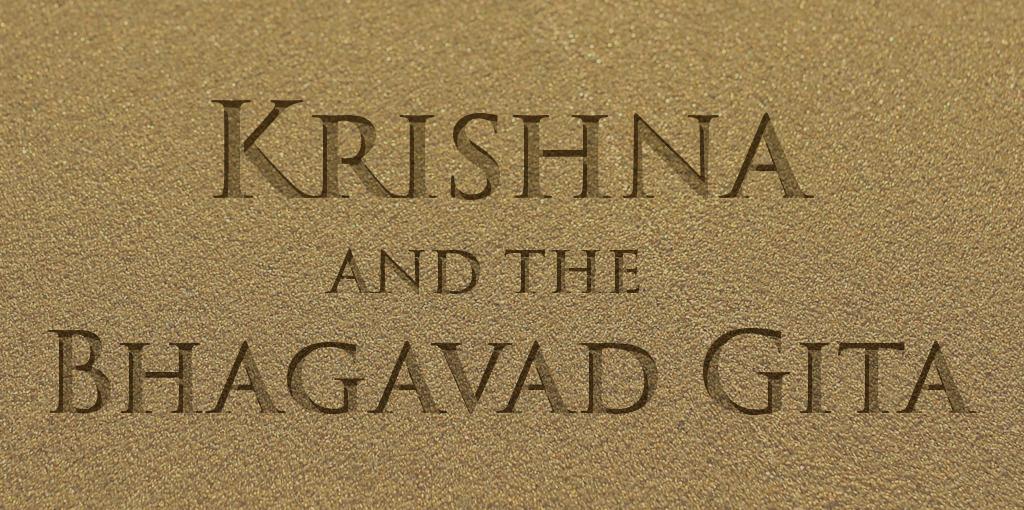 Krishna and the Bhagavad Gita