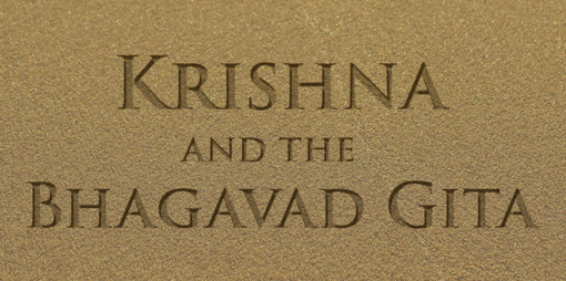 Krishna and the Bhagavad Gita - thumbnail version