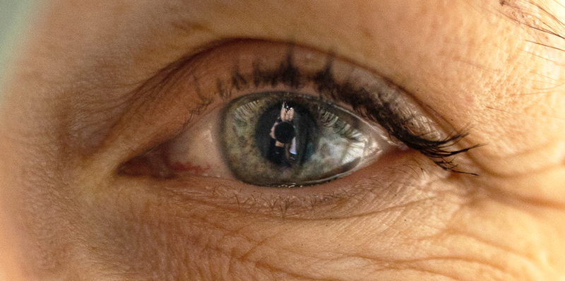 In esoteric yoga, the eyes bring awareness to the bigger picture. - thumbnail version