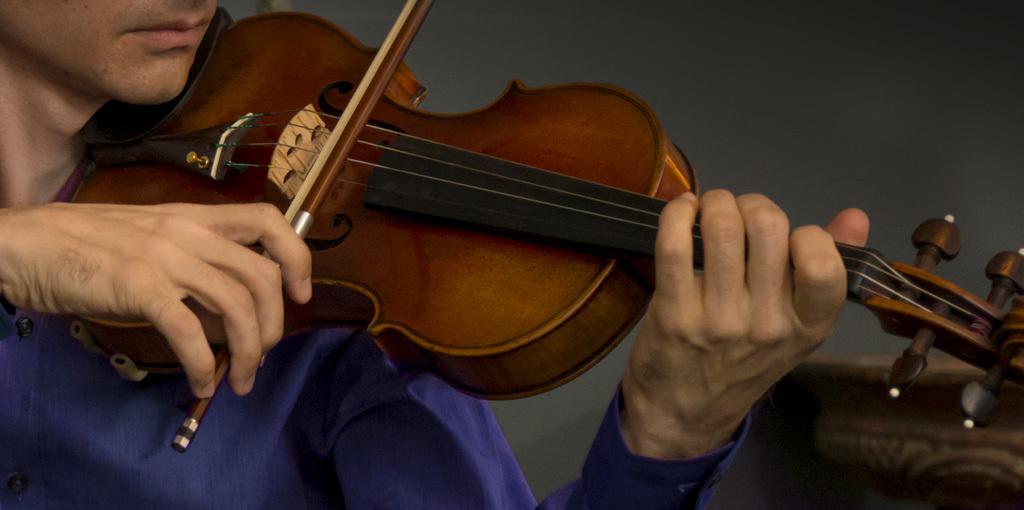 Who said playing violin was hard?