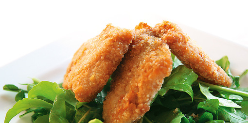 Gluten free Crumbed Fish - thumbnail version