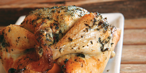 Gluten Free Roast Chicken - thumbnail version
