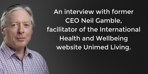 Neil Gamble On Unimed Living - thumbnail version