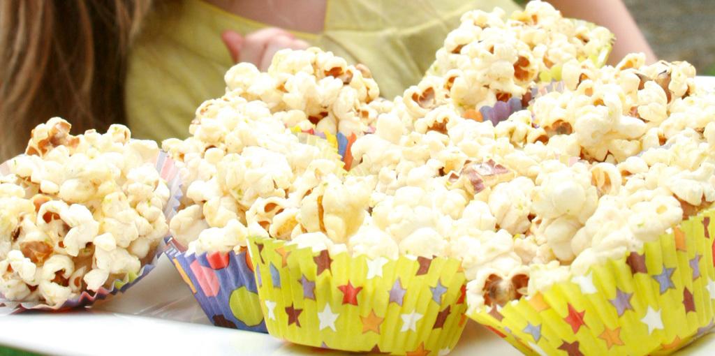 Honey Popcorn Cups