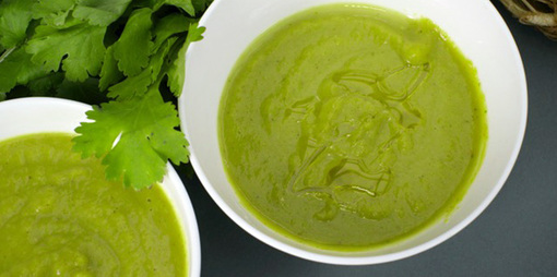 Warm your heart with Fennel Soup with broccoli and coriander - thumbnail version