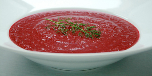 A clean earthy, almost creamy velvety vegetable soup that is warming full of nutrients and fibre. - thumbnail version