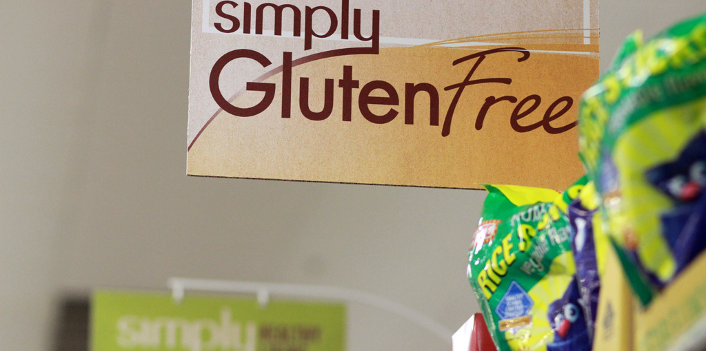 From hymns to wheat ears and going gluten and dairy free.