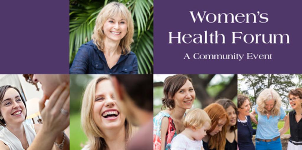 Women's health community forum