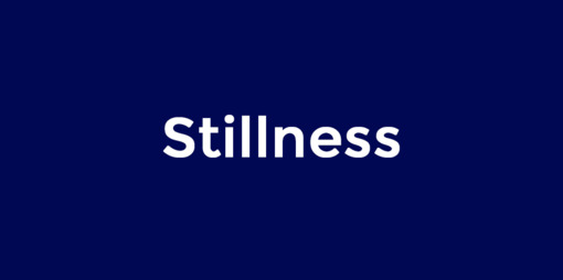 Stillness is a quality of being - thumbnail version