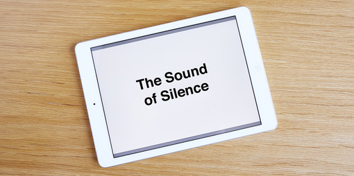 The sound of silence - thumbnail version