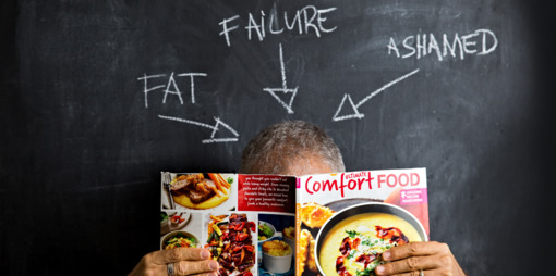 Ashamed of being fat? - thumbnail version